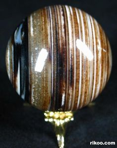 Banded Agate Crystal Ball