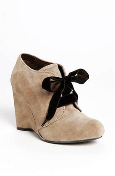 Brown Bow Women Wedge Shoes - Cute Bow Women Wedge Shoes - LoveItSoMuch.com