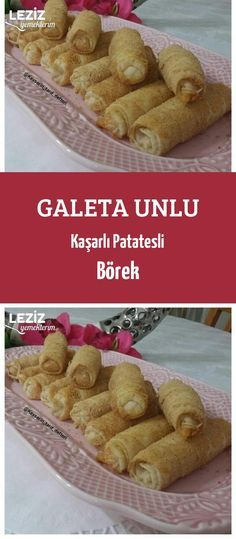Galeta Unlu Kaşarlı Patatesli Börek