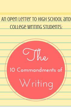 Teaching essay writing high school