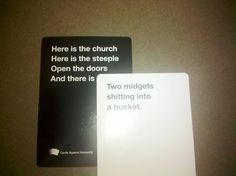 Cards Against Humanity Looks Like A More Inappropriate Hilarious Version Of Apples To Apples