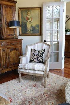 Savvy Southern Style: When a Chair is Too Small