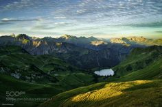 The Eye of the Mountains by kilianschoenberger  lake germany bayern alps bavaria alpen mountain lake bergsee The Eye of the Mountains kilianschoenbe