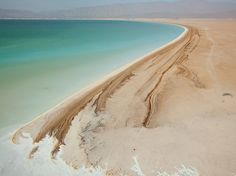 Lake Assal, Djibouti  Photograph by George Steinmetz, National Geographic