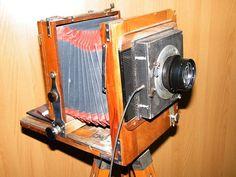 Павильонный крупноформатный фотоаппарат «ФКД 13×18», СССР, 1930—1980-е годы