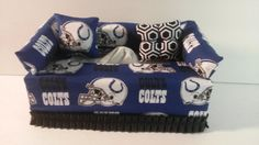NFL Indianapolis Colts Fabric Tissue Box Cover by CLASSECHAOS, $19.95