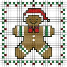 GINGERBREAD CROSS STITCH ORNAMENT http://www.anastasiapollack.blogspot.com/2013/09/crafts-with-anastasia-gingerbread-cross.html