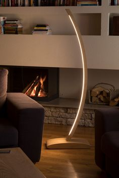 Every lightning is handmade, which are made of high quality birch plywood Every lamp has a transformer and a LED strip. The LED strips are manufactured in Italy. Wooden Floor Lamps, Led Floor Lamp, Wooden Lamp, Modern Lighting Design, Modern Interior Design, Ceiling Design, Home Lighting, Furniture Design, Amazon Gadgets