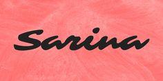 Sarina Font · 1001 Fonts