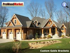 We offer wooden cedar architectural brackets, wooden cedar corbels and gingerbreads for front porch posts, gable, sofits and front stoop. We have largest selection of Cedar Brackets and Cedar Brace made in USA. Pergola With Roof, Outdoor Pergola, Patio Roof, Pergola Plans, Diy Pergola, Pergola Kits, Craftsman Home Exterior, Craftsman House Plans, Craftsman Style