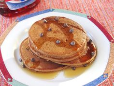 Chocolate Pumpkin Pancakes (lots of other delicious sounding recipes at bottom of page)