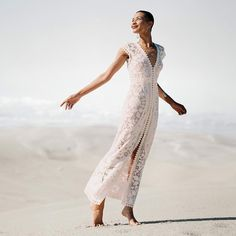 Holy moley our Stardust dress is featured in the new issue of @whitemagazine. Incredible photo by @jamesbennettphoto. Made from vintage Quaker lace, unearthed from an antique store in the USA. #whitemagazine #laceweddingdress #weddingdresses #weddingideas #bohobride #beachbride #beachwedding #weddinginspo #bridalfashion #lostinparis #lacedwithhistory