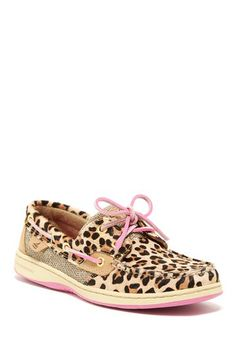 Bluefish Leopard Boat Shoe by Sperry Top-Sider -- @Emilie Nielson you need these!!