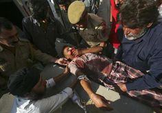 There are many injuries due to the clashes of India/Pakistan.