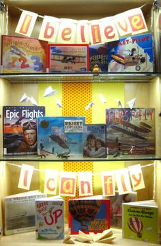 I Believe I Can Fly | Library Book Display