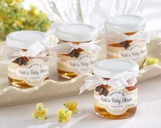 Bee Baby Shower Personalized Honey from Hotref.com