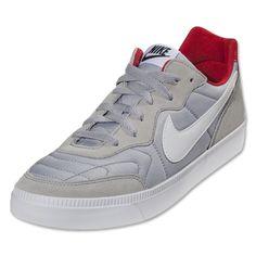 Nike NSW Tiempo Trainer (Wolf Gray University Red) 7b62954966dd5