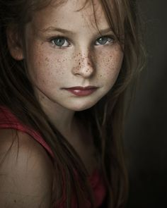 wonder if she knows how SWEET her freckles are