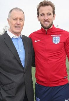 Sir Geoff Hurst (pictured with Harry Kane) has sent a message of hope and support to Gareth Southgate's team Geoff Hurst, England Fans, Gareth Southgate, Harry Kane, Message Of Hope, Semi Final, Coming Home, World Cup, Croatia