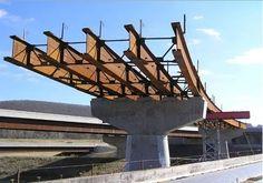 Plate girders + truss