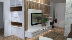 vestavěná skříň zádveří Interior, Lcd Units, Flatscreen Tv, Flat Screen, Paneling