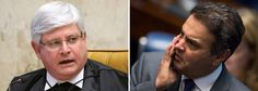 """No mesmo dia em que ofereceu denúncia ao Supremo Tribunal Federal contra o senador afastado Aécio Neves (PSDB-MG) pelos crimes de obstrução da Justiça e corrupção passiva, o procurador-geral da República solicitou a abertura de um novo inquérito contra o tucano, desta vez por crime de lavagem de dinheiro; Aécio, que jogou o Brasil na lama ao apoiar o golpe que tirou Dilma Rousseff e colocou Michel Temer no poder, é acusado pelo """"pagamento de propina da ordem de mais de R$ 60 milhões feit..."""