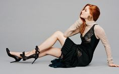 Meet+the+Fresh+Faces+About+to+Make+It+Big+in+Hollywood+via+@WhoWhatWear Dark Hair Pale Skin, Dark Red Hair, Natural Redhead, Beautiful Redhead, Red Haired Actresses, Hottest Redheads, Celebrity Wallpapers, Fresh Face, The Fresh