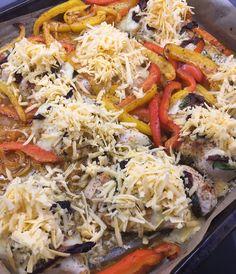 tomaatti mozzarella broileri