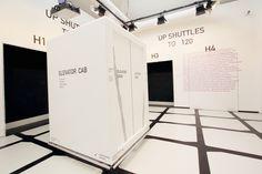 Venice Biennale 2014: Central Pavilion elements of architecture (e o a)  Elevator