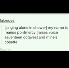 Lol basically me with any guy/girl duet...Bonnie and Clyde, FIRST DATE, Cinderella, Spring Awakening...the list just goes on and on.