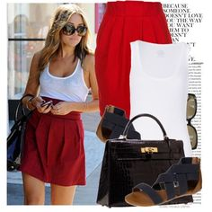 go hogs =) cute gameday outfit.