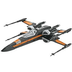 This is the Star Wars® Poe's X-wing Fighter(TM) SnapTite® Build & Play(TM) Model Kit by Revell®. Suitable for Ages 6 & Older. FEATURES No paint, glue or tools required Battle action sounds Cockpit can