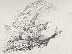 Guild merchant ship | Jodorowsky's Dune | Concept art by Chris Foss