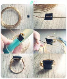 DIY wire ring