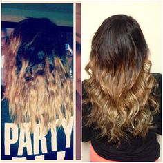 Before and after hair extension by Jandy Taylor