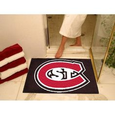 Saint Cloud State Huskies NCAA All-Star Floor Mat (34x45)
