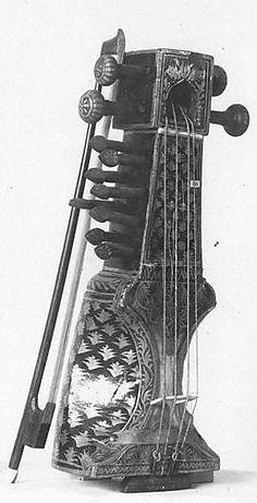 Musical instruments of Bengal - Sarangi 1885