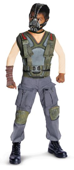 The Dark Knight Rises Deluxe Bane Child Costume