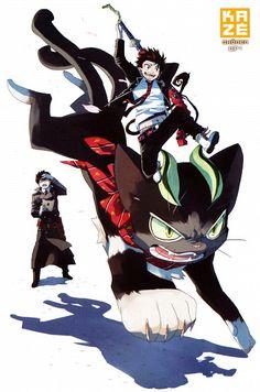 I want a cat like Kuro! (Ao no Exorcist//Blue Exorcist)