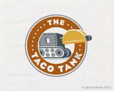 The Taco Tank by jerron #logo