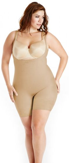 A fabulous Plus Size Body Shaper from Shapewear Australia. The all-in-one undergarment!