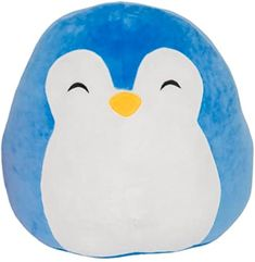 Buy Squishmallow Kellytoy Puff The Blue Penguin- Super Soft Plush Toy Pillow Pet Animal Pillow Pal Buddy Stuffed Animal Birthday Gift Holiday Easter Pillow Pals, Cute Stuffed Animals, Cute Plush, Animal Birthday, Animal Pillows, Plush Craft Pillow, Kids Room, Ty Toys, Squishies