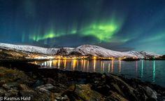 Northern Lights over Tufjord, Rolvsøy, Finnmark, Norway