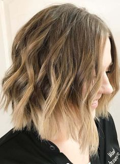 Browse here for best options of trendy shoulder and medium length bob haircuts for 2018.