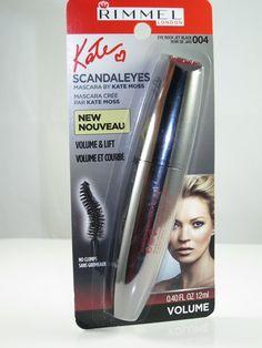 Rimmel ScandalEyes Mascara by Kate Moss #katemoss #mascara #makeup