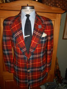 JCPenney 42R vintage men's jacket / blazer by RichardsFabulousFind, $125.00