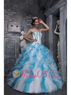 8956cbc417 Buy colorful applique sweetheart ruffled organza quinceanera dresses from  designer quinceanera dresses collection