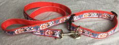 Paw Patrol Inspired Adjustable Dog Collar and/or Lead for Medium to Large Dogs Handmade Dog Collars, Paw Patrol, Large Dogs, Rescue Dogs, I Love Dogs, Cool Things To Make, Fur Babies, Cool Designs, Boutique