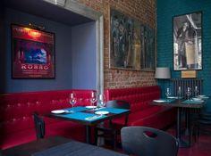 Hoża by Mondovino Restaurant and Wine bar in Warsaw Warsaw, Elle Decor, Poland, Jazz, Restoration, Gothic, Artisan, Shops, Bohemian