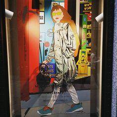 "BELSTAFF,Via della Spiga, Milan,Italy, ""Salon Del Mobile....see you soon"", creative artwork by Marco Santaniello, pinned by Ton van der Veer"